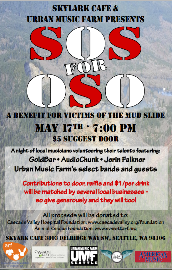 OSO Fundraiser May 17